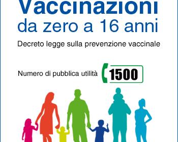 Vaccinazioni obbligatorie Alunni e Operatori scolastici - a.s. 2017/18