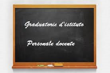 GRADUATORIE D'ISTITUTO  PERSONALE DOCENTE I, II e III FASCIA AGGIORNATE