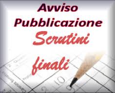 AVVISO pubblicazione esiti scrutini finali  a.s. 2017-18