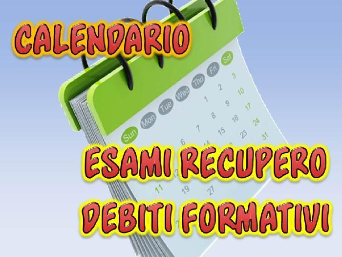 DEBITI FORMATIVI a.s. 2015/16